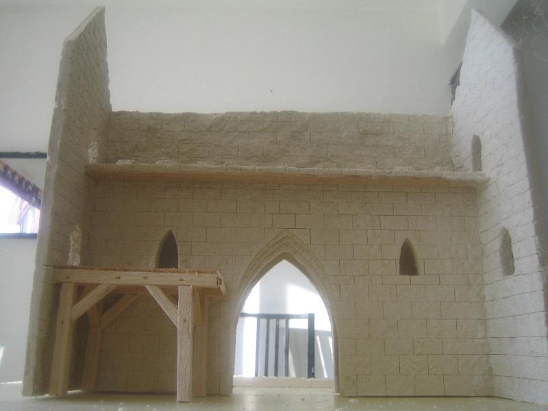[Tuto] Remparts en plâtre - Moule en polystyrène 493196TECMordheim41