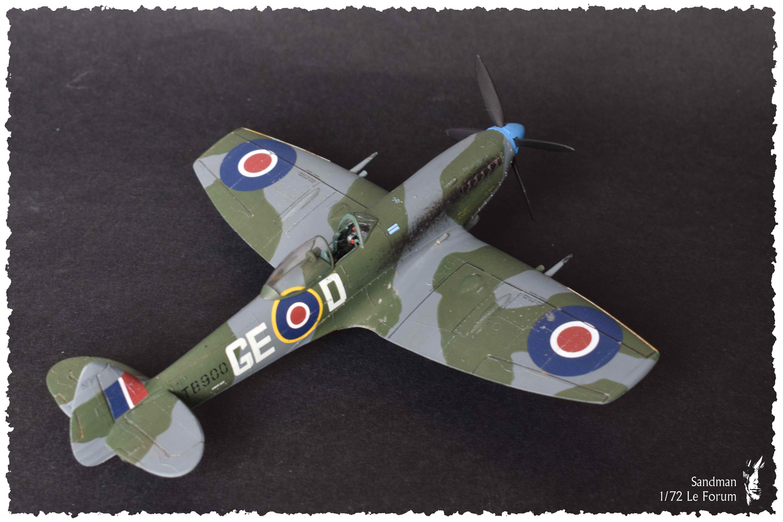 [Heller] Spitfire Mk. XVI 494497SpitfireMk1623