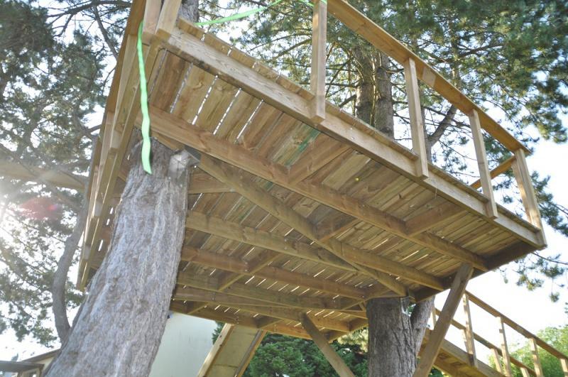 Projet de toboggant pour la cabane dans les arbres de mon fils, vos idées? - Page 3 496153Cabane19