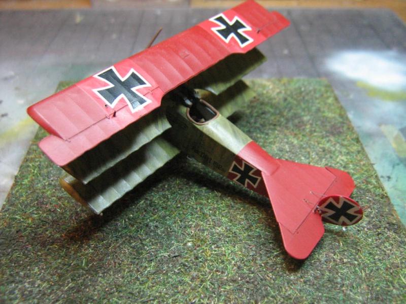 [Eduard] Fokker Dr I 152/17 Rittm Manfred von Richthofen Mars 1918 498392IMG0275