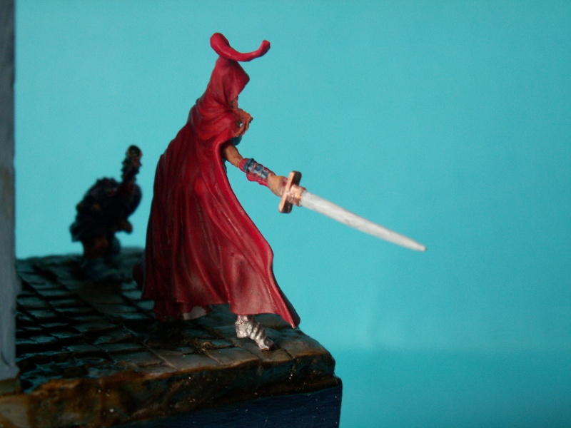 Isabeau la secréte et son porte épée. Marque Rackham 28 Mm 498419PICT0019