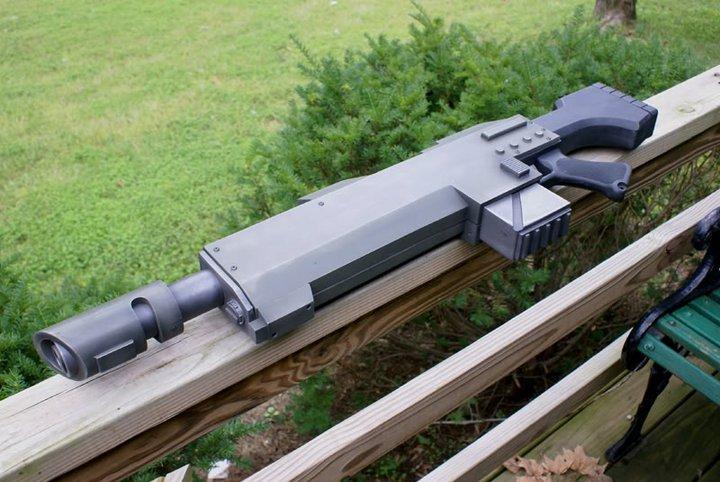 L'Armurerie W40K :  armes pour les grands enfants ! 499347FusildassautW40K2