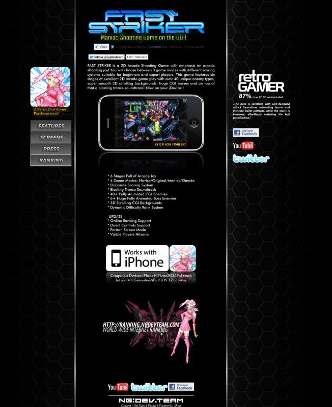 fast striker sur iphone 499448faststrikeriphone