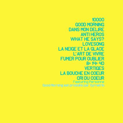 [Album] SangoFiV' - L'Art de vivre 502586TRACKLIST