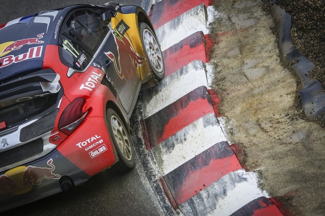 Rallycross - Beau podium de Sébastien Loeb et la PEUGEOT 208 WRX à domicile 5046112016RXFrance824