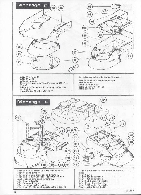 AMX 13 canon de 75 1/35ème Réf L 784 504843AMX1375784007Heller135
