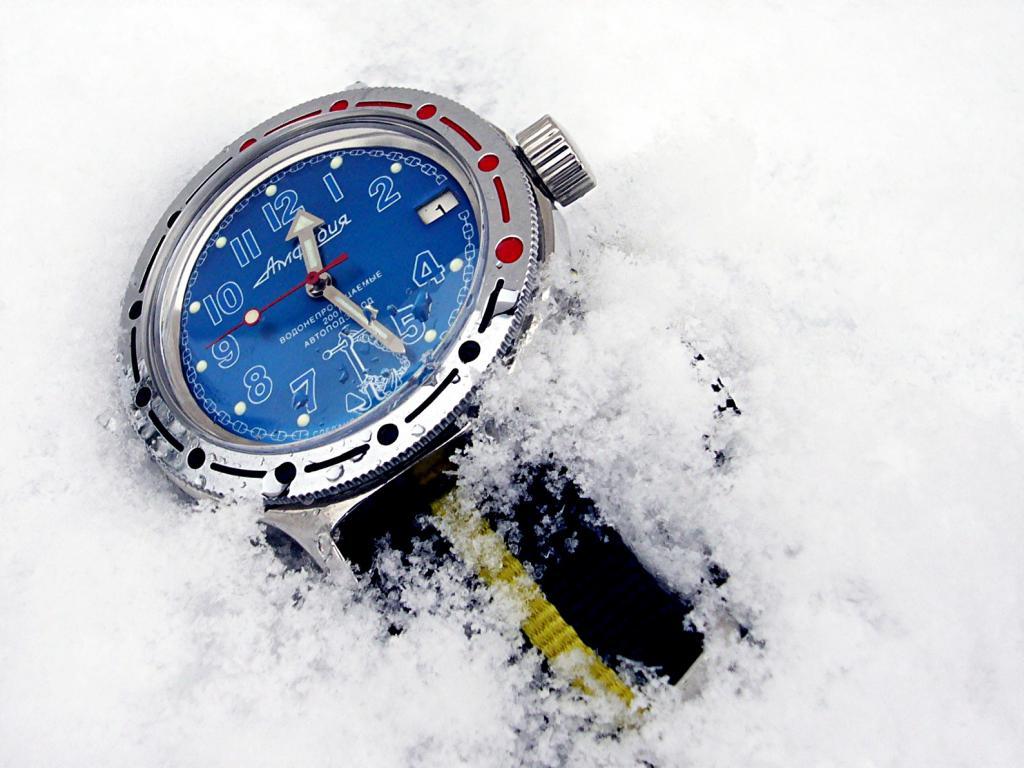 vostok - Vostok Amphibia cadran bleu 505226Vostockneigejpg