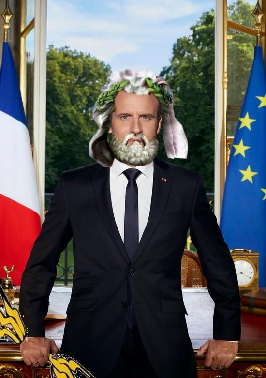 Macron 1er: la photo officielle 511179jupicron