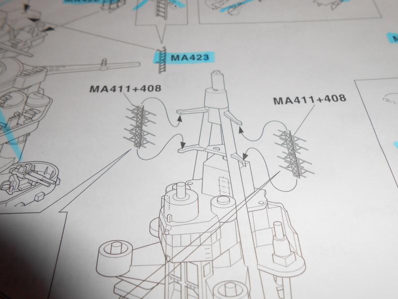 NAGATO Hasegawa 1/350- PE- Ponts en bois - Page 3 511427DSCN6702