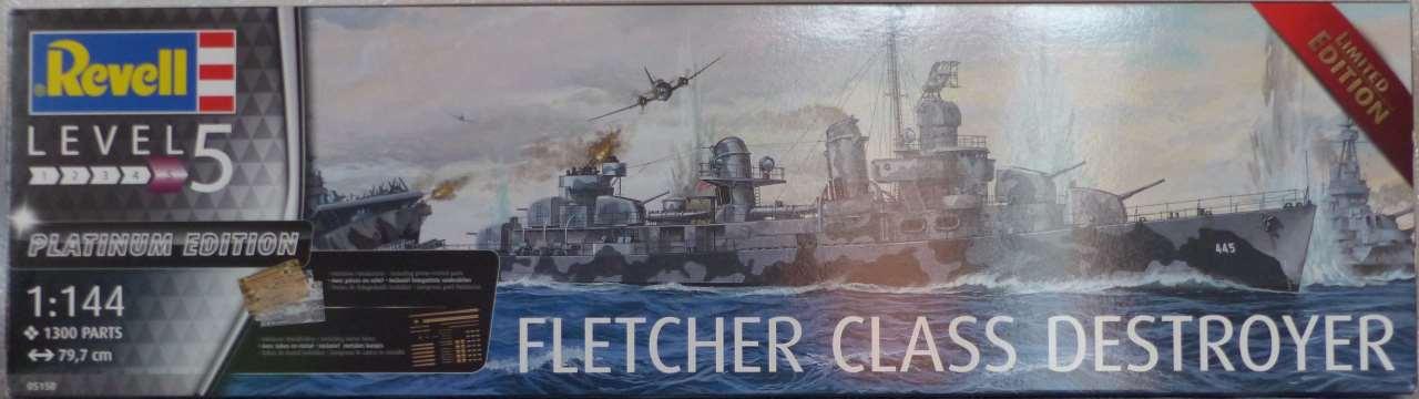 Premier rôle à Guadalcanal - USS Fletcher DD-445 (Tamiya 1/700) 511739Fletcher11
