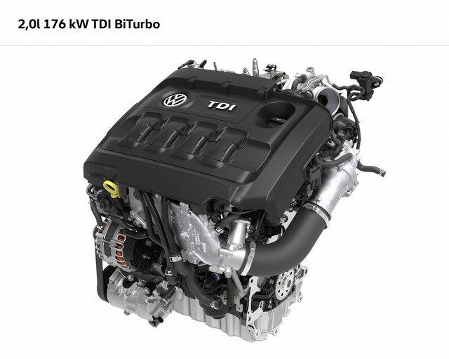 Couple élevé, efficaces et innovants :Les nouveaux moteurs 1.4 TSI 150 4Motion DSG et 2.0 Bi-TDI 240 4Motion DSG sont maintenant disponibles à la commande sur le Tiguan  512195hddb2016au00452large