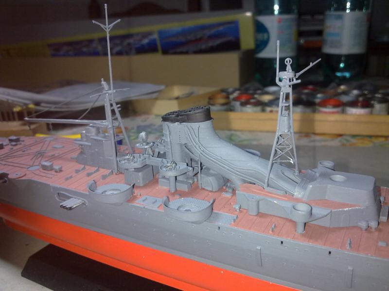 croiseur lourd Mogami au 1/350 par Pascal 94 - Tamiya  - Page 4 513136montagepasserelledca3jpg