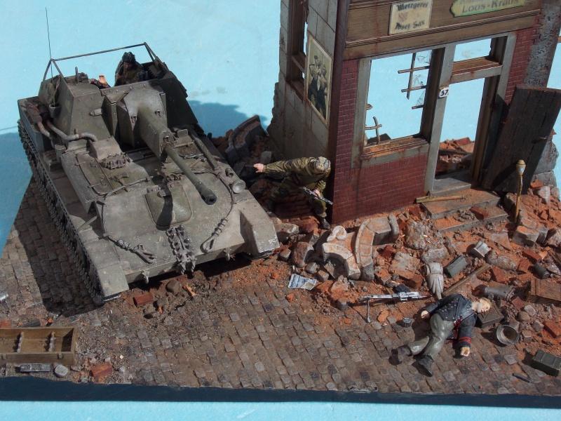 SU 76 M Tamiya et ruine Verlinden 1/35 - Page 8 516315DSCN4510
