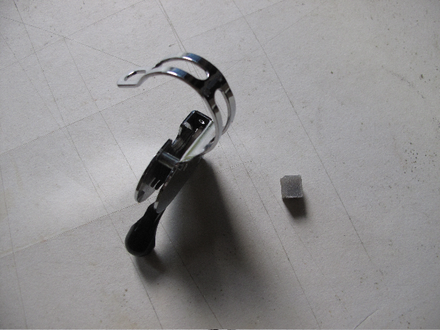 Commande de dérailleur pour 3 pignons sur une roue libre [Brompton 9 vitesses] •  516493IMG71211968