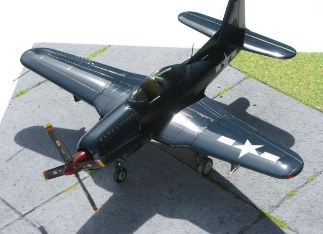 Montage terminé: Ryan XF2R-1 Czech Model 1/48 517764IMG1414