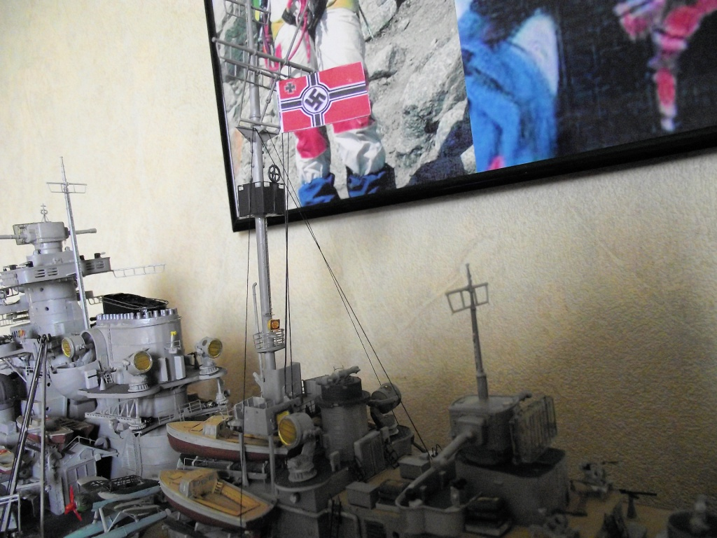 Bismarck Trumpeter 1x200 avec PE et figurines Eduard 520329Bismarck1x200121