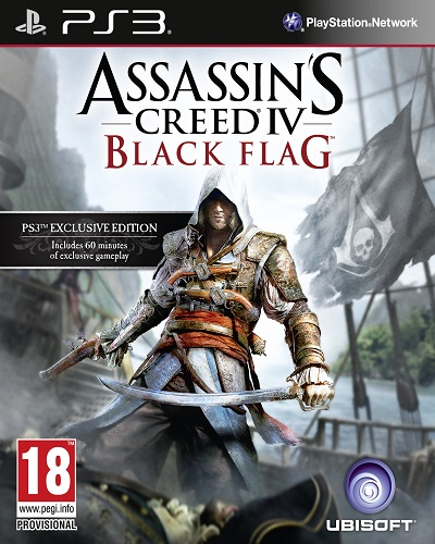 Assassin's Creed - Ubisoft 522191assassinscreedivblackflagPlaystation3cover
