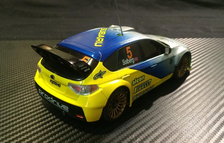 Premiere réalisation carro Mini-Z Subaru 522487SUB9