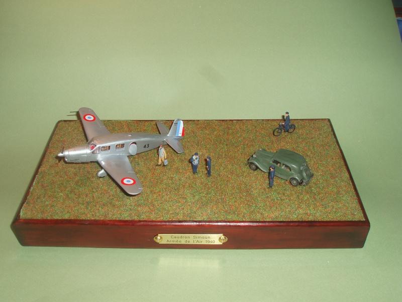 Diorama Caudron Simoun Armée de l'Air! 523093P1010327