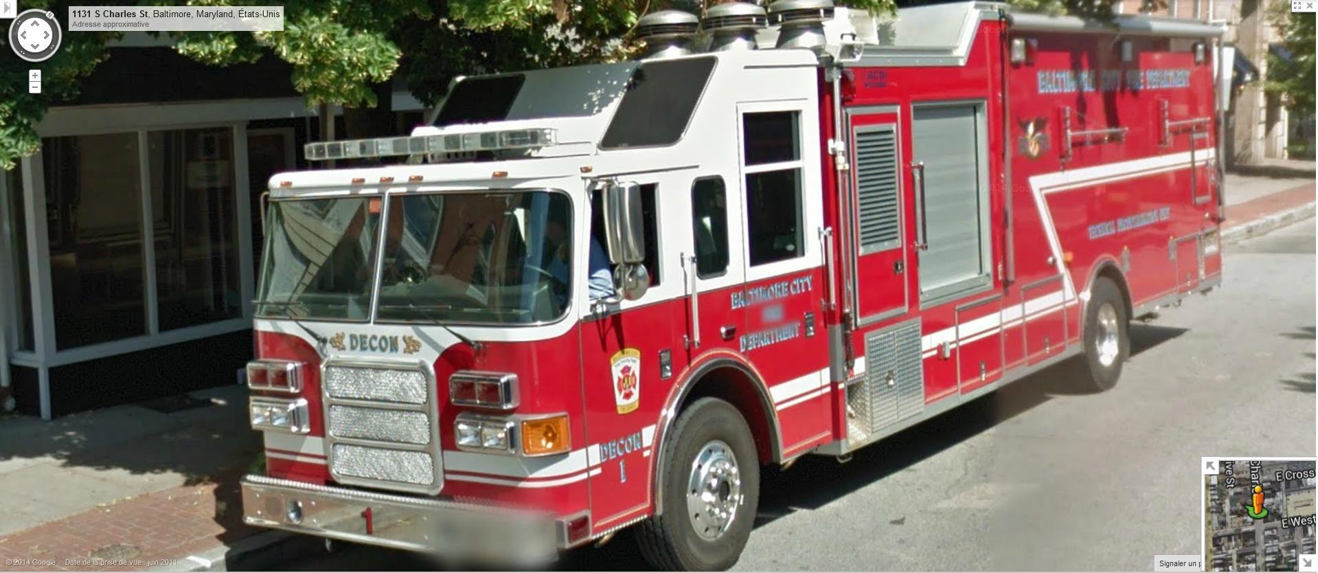 STREET VIEW : les camions de pompiers  - Page 6 524542Baltimorepompiers
