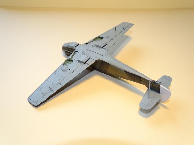Bf 109 E3 WNr 1304 du JG 76 capturé le 22/11/1939 [Tamiya 1/72]  (Terminé) 525650DSC03699