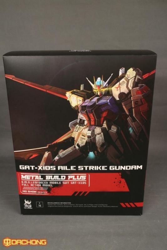Review/Edito : Strike Gundam Metal Build 1/72 by Moshow la leçon Chinoise donnée a Bandai  529742Moshow172fontbMetalbfontfontbBuildbfontPlusfontb