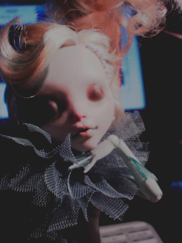 Woodoo Ih Poom{Monster High doll custom} ~up p.2~ - Page 2 530922wip