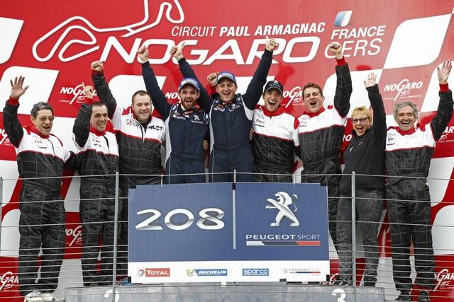 Rencontres Peugeot Sport - Quatre Titres Distribués A Nogaro ! 53261458289a35eaee7