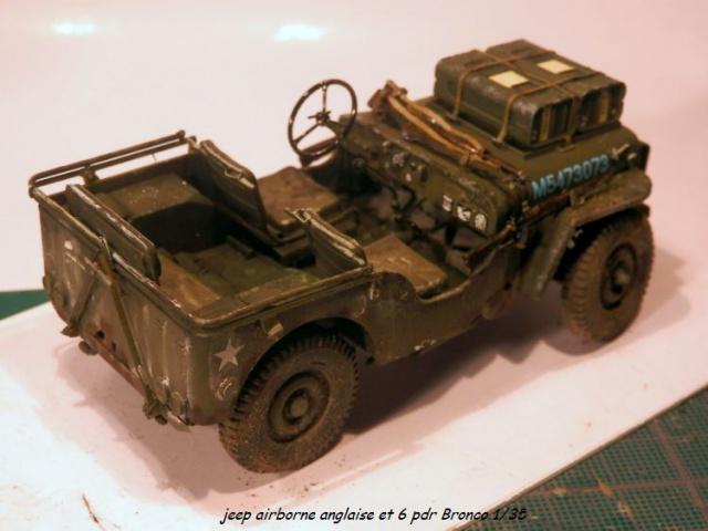 jeep indochine - 6 pdr ,jeep ,équipage airborne Bronco 1/35 (sur la route de Ouistreham) 534456P5060112