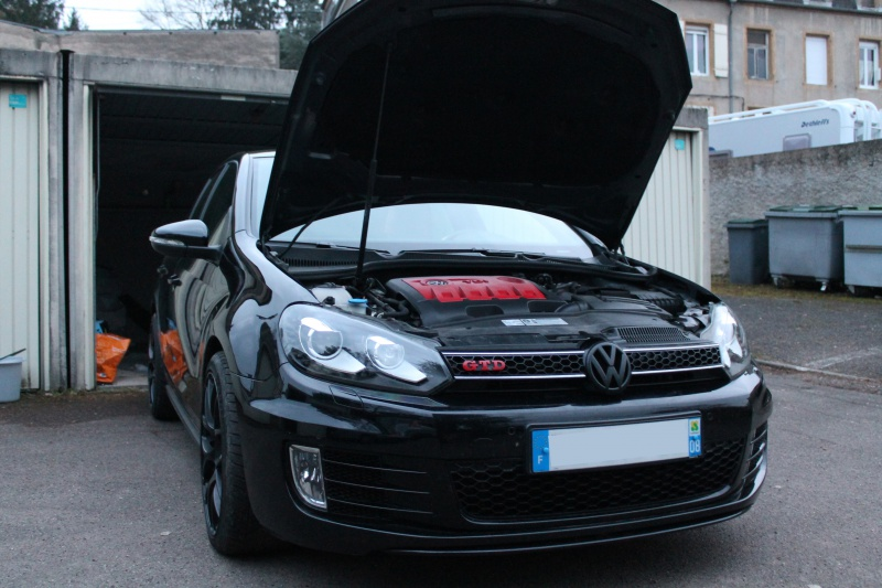Golf 6 Gtd black - 2011 - 220 hp - Shooting p13 et insignes Piano Black p25 534891IMG0107