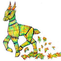 Dragons, chimères et créatures arc-en-ciel 535164Cerfoincopie