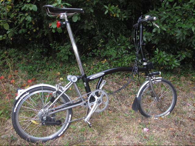 Commande de dérailleur pour 3 pignons sur une roue libre [Brompton 9 vitesses] •  535925IMG71301973