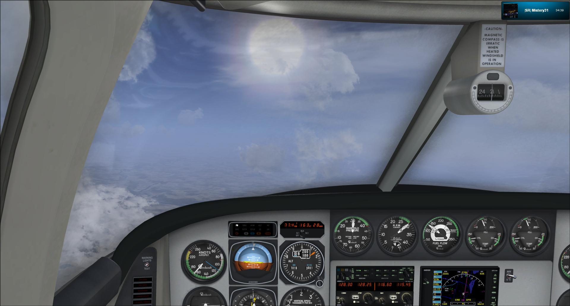 Vol VFR entre Bale et Clermont ferrand 538193201211251720924