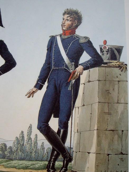 7ème régiment d infanterie légère - 1812 - Petite surprise ! 5406697medeligneofficier1813