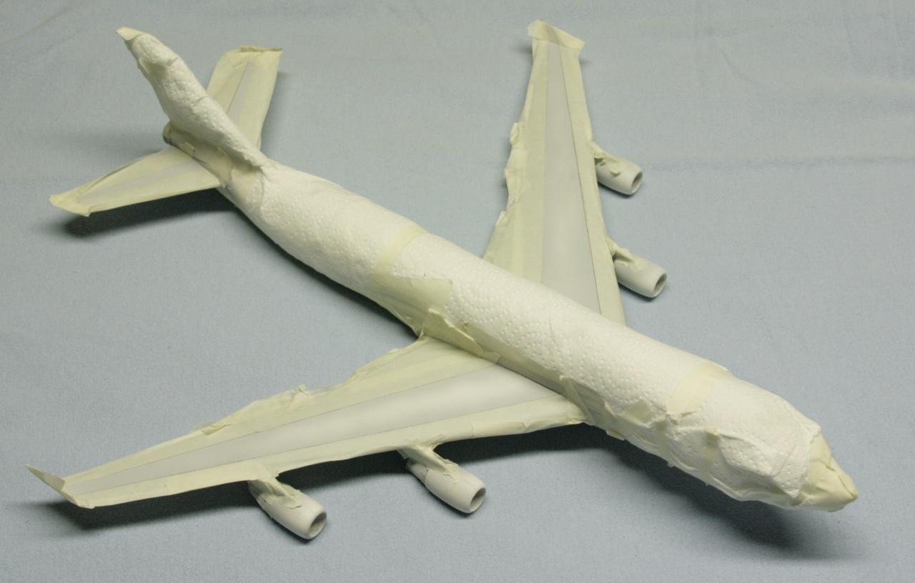 Boeing 747-4F British Airways revell 1/144 541396MG0993