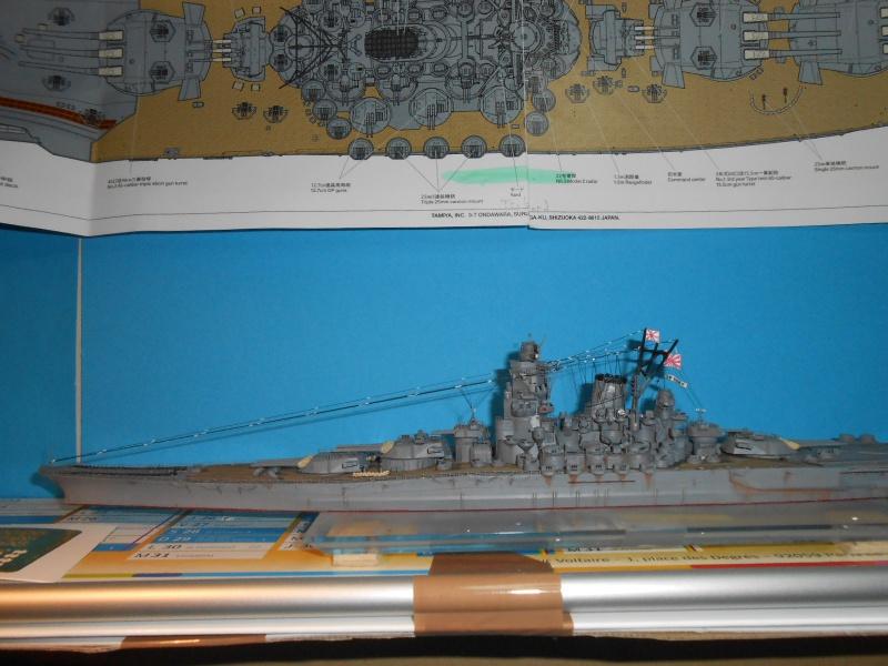 Yamato 1/700 fuji, PE,Pont en bois et babioles - Page 5 541578DSCN6296
