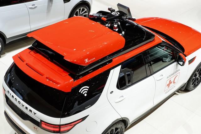 Project Hero, une version unique du nouveau Land Rover Discovery pour la Croix Rouge autrichienne  545881lrnewdiscoveryprojecthero0702177