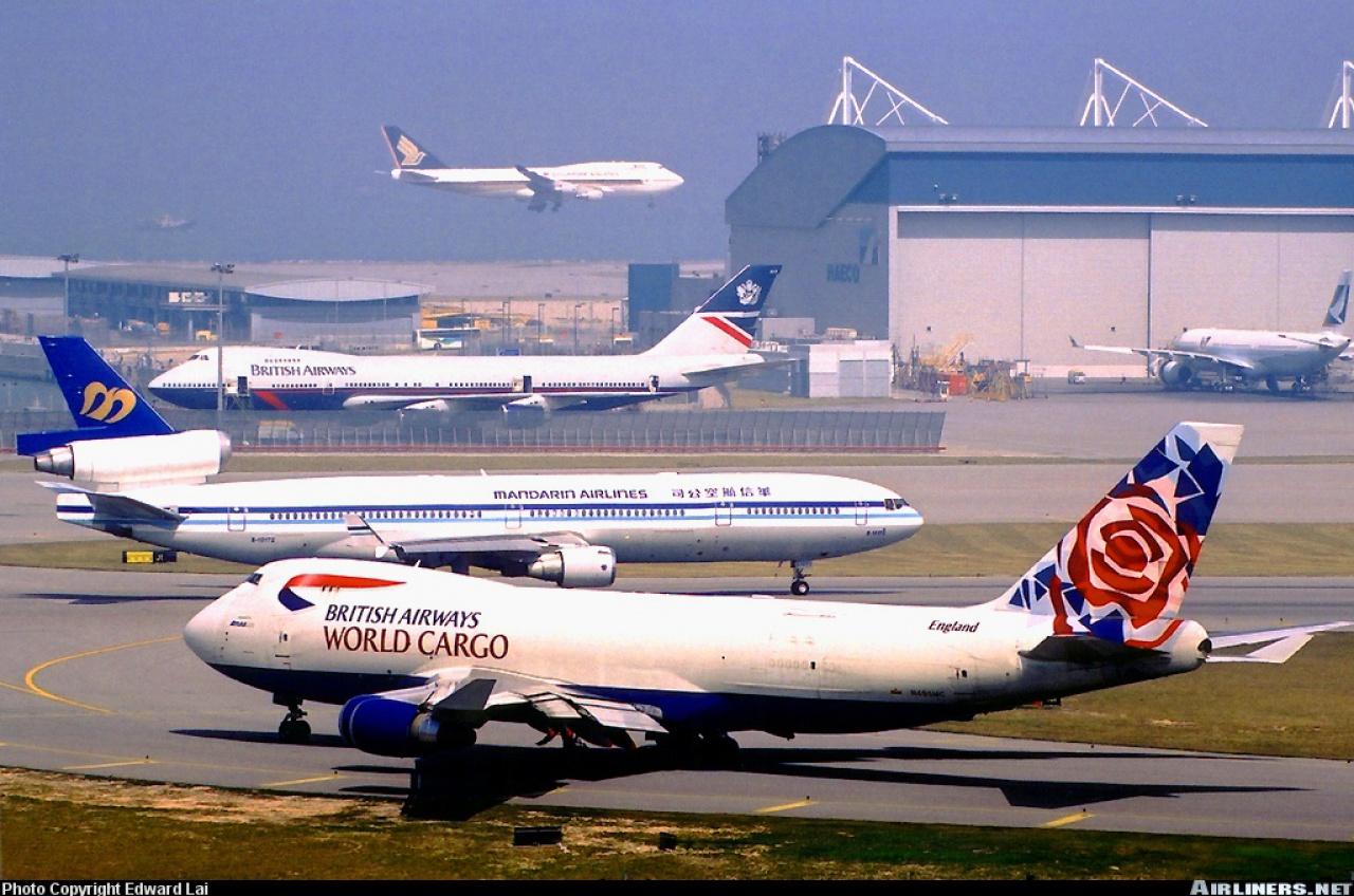 Boeing 747-4F British Airways revell 1/144 546736B747400FBritishAirwaysChelsearoseN495MC