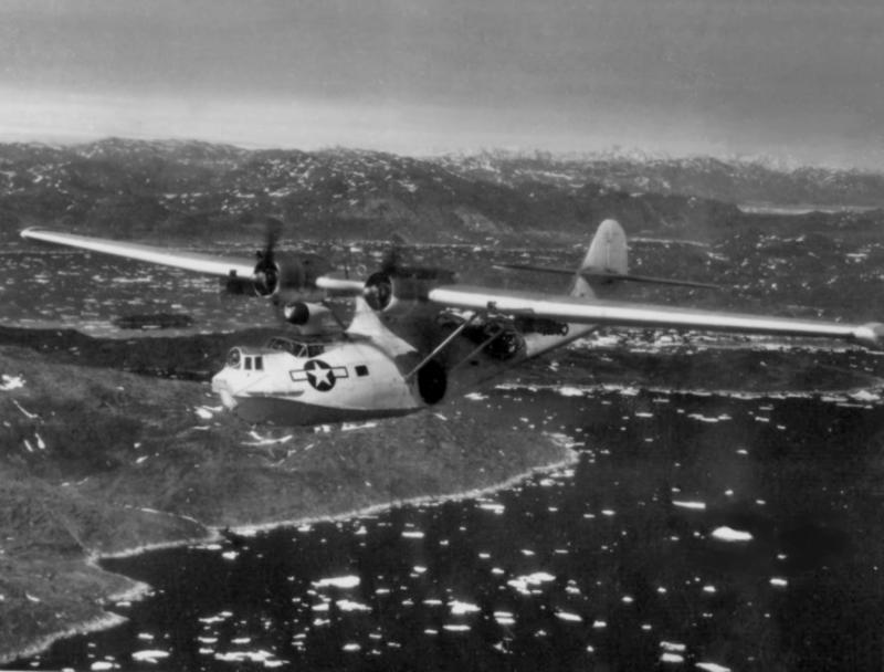 CONSOLIDATED PBY CATALINA  548058PBY5AVPB6CGoverNarssarsuakGreenland1945