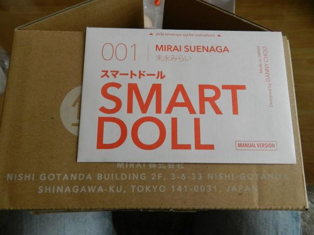 Box opening Smart Doll Mirai 55176420141222123855