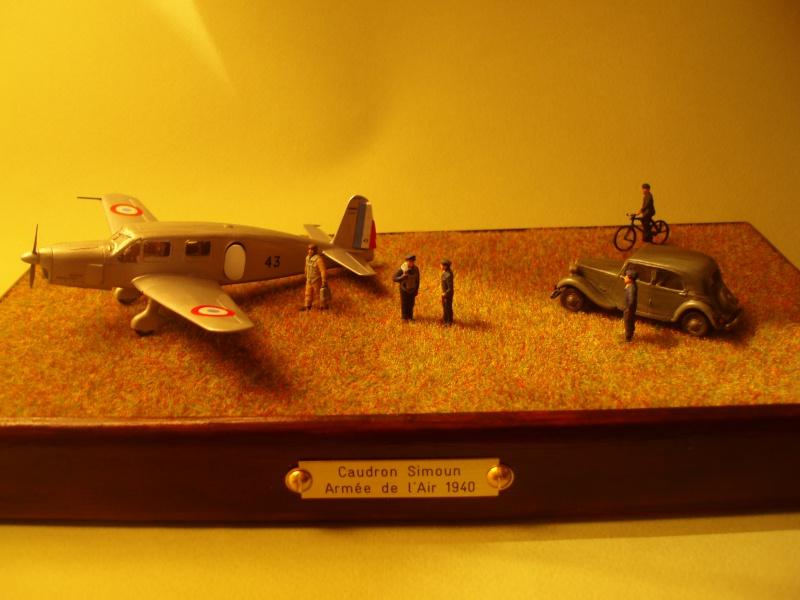 Diorama Caudron Simoun Armée de l'Air! 552048P1010347
