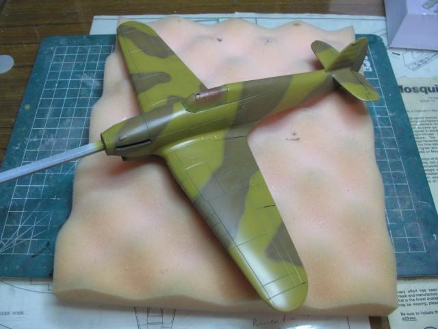 Hawker Hurricane Mk IId Trop 6 Sqn 1942 Hobbycraft 1/48.... Terminé! 552554IMG1123