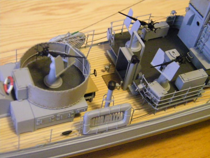 Chasseur de sous-marin CH 123 au 1/100e sur plan 5526001001753