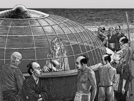 Le Japon à t-il connu une rencontre extraterrestre du troisième type au cours de la période Edo? 5531131201141232341278939297694