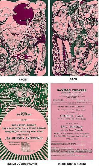 Londres (Saville Theatre) : 27 août 1967 553707program