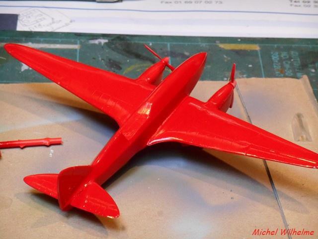 DE HAVILLAND D H88 kit Airfix 1959 553951DSCN9405Copier