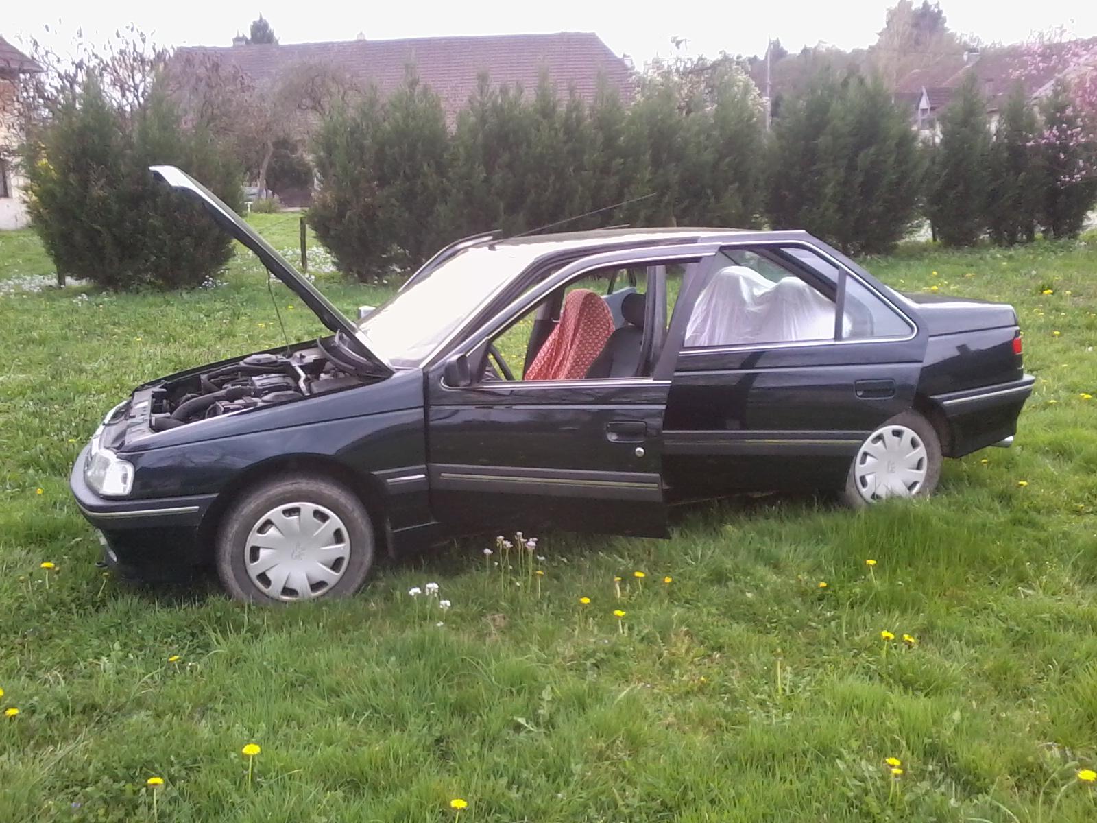 Présentation de ma nouvelle voiture, une Peugeot 405 Signature. 556515Photo0689