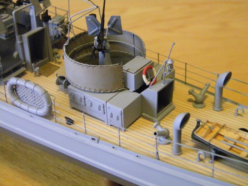 Chasseur de sous-marin CH 123 au 1/100e sur plan 5565781001742