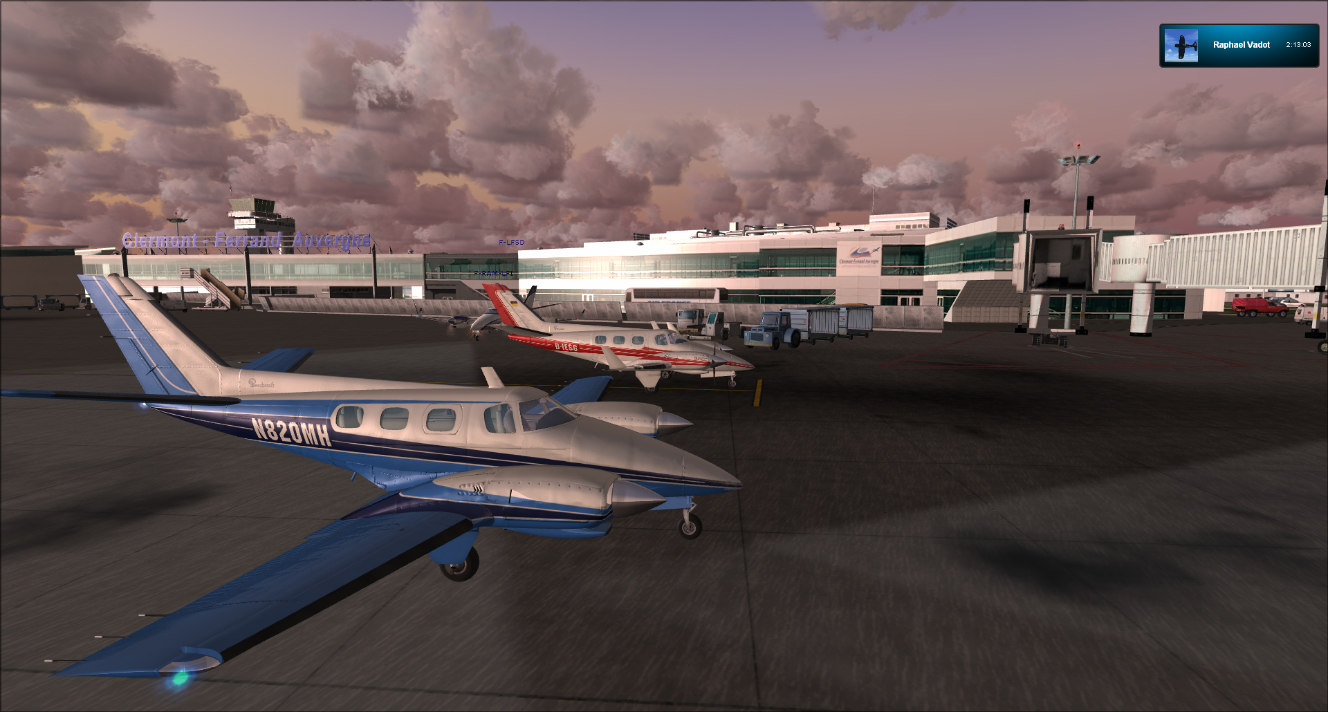 Vol VFR entre Bale et Clermont ferrand 55773520121125184025409