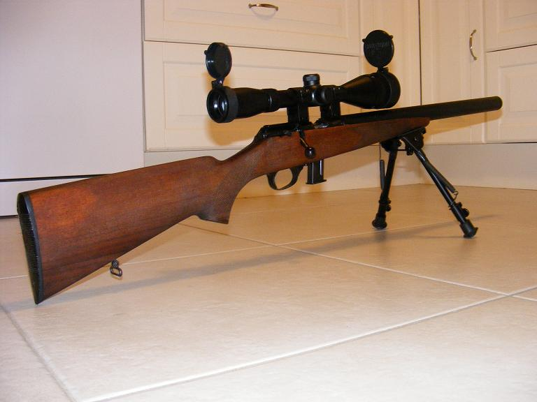 Mes armes longues : Savage Mark II BTVS  et  Custom Silence MK2 + cartons 557991DSCF0591